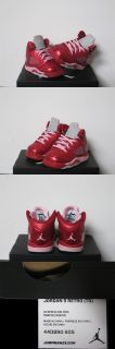 Nike Air Jordan 5 V Retro TD Toddler Valentines Day Red Pink Sz 8 New 440890 605