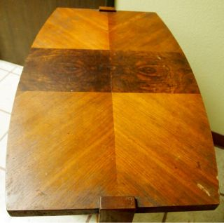1940's Art Deco Walnut Table