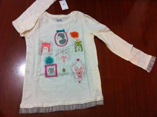 Baby Gap Girls Graphic Top Tee 2 2T 3 3T 4 4T 5 5T U Pick