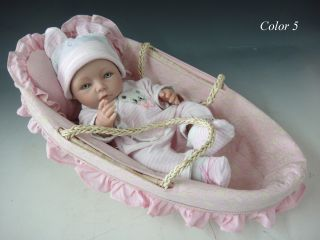 "16"" Reborn Baby Hard Silicone Doll Soft Handmade for Boys Unique Toys"