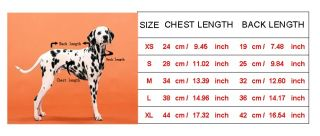 Bone Pattern Dog Sweater Clothing Coat Autumn Winter Warm Jacket Dog Clothes