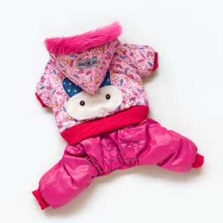 Autumn Winter Cartoon Rabbit Dog Clothing Coats Wear Dog Jacket Sweater Clothes