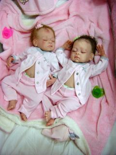 Beautiful Preemie Reborn Baby Girl Art Doll Jody by Linda Murray Sold Out