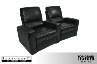 Seatcraft Adonis 2 Seats Home Theater Seating Chairs