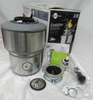 InSinkErator Evolution Excel 2 HP Household Garbage Disposer Stainless Steel