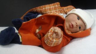 "Zuccherobambino Reborn Baby Boy Doll ""Chris"" by Brit Klinger"