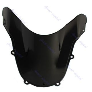 Motorcycle Windshield Windscreen for Suzuki GSXR 600 750 K1 2001 2002 2003 Black