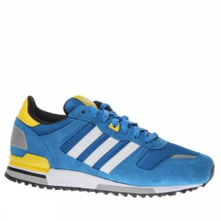 Adidas ZX 700 UK Size Blue Trainers Shoes Mens New