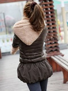 Women Fashion Korean Winter Warm Soft Plush Hooded Hat Cap Scarves Solid Color