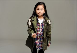New Korean Style Toddlers Boys Girls Slim Fit Lapel Coat Kids Jacket Size 2 7Y
