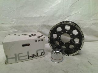 "Helo HE791 Gloss Black Machined Wheel 16x8"" 8x6 5"" $250 00"