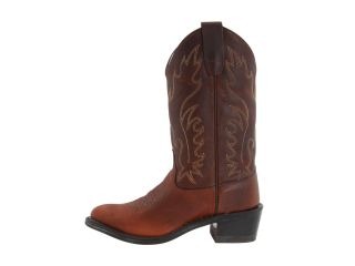 Old West Kids Boots J Toe Western Boot (Big Kid) Oiled Rust