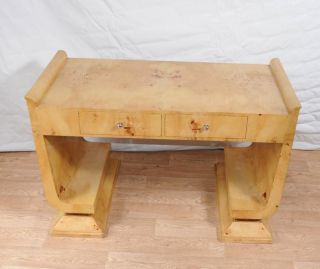 Art Deco Desk Writing Table Bureau Vintage Furniture