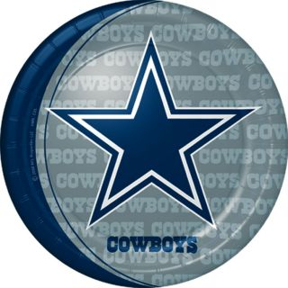 Dallas Cowboys NFL Party Set 32 Paper Plates Napkins