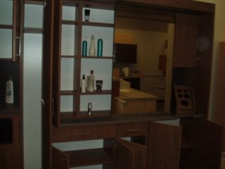 New Proto Type Beauty Shop Styling Complete Wall Unit Station w Shampoo Bowl