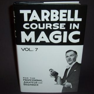 New Tarbell Course in Magic Vol 7 Book Learn Tricks