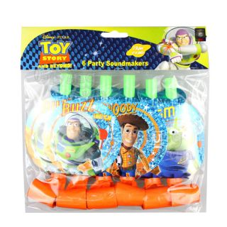 Authentic Disney Toy Story 3 Woody Buzz Birthday Party Supplies 6X Blowouts