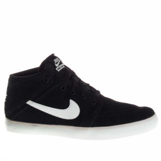 Nike Suketo Mid Leather Black Trainers Mens Moda