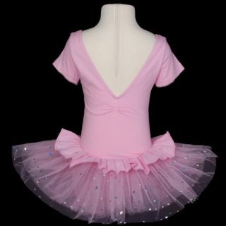 KD105 10 Girls Ballet Tutu Dance Dress Pink 2T 3T