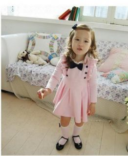 Girls Kids 1 Pcs Dress Tutu Skirt S1 6Y Clothing Cotton Costume Long Sleeve