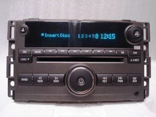 New Chevrolet HHR Radio 6 Disc CD Changer Aux  Player 2006 2007 2008