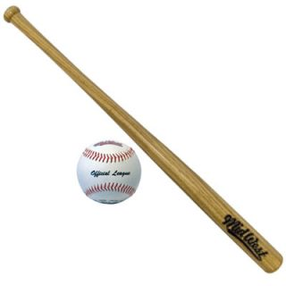 "New Midwest Slugger Senior Baseball 32"" Bat Ball Set"