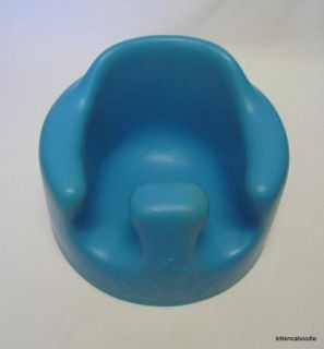 Blue Bumbo Seat Infant Baby Chair Support for Sitting Up Use on Floor