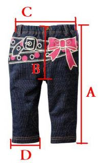 Free P P Baby Kid Boy Girl Stylish Jean Denim Pant 1 5Y