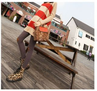 New Womens Fall Winter Fashion Heart Warm Knee Thin Leggings Pants 3 Colors H344