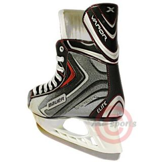 New Bauer Vapor Elite Junior Senior Ice Hockey Skates with A Free Lace Pullar
