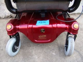 Rascal 318 Electric Wheel Chair Power Chair Scooter Factory Rebuilt Works Fine 3