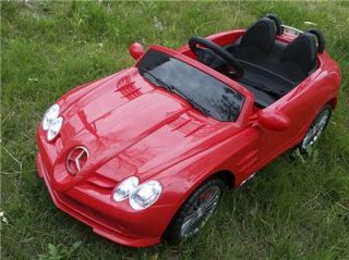 Licensed Mercedes Benz SLR McLaren 722s Kids Ride on Power Wheels Toy Car Red