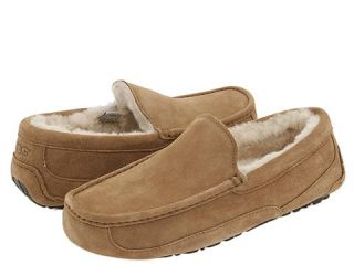 Details about NIB UGG ASCOT Driving Moccasins Slippers Chestnut 8