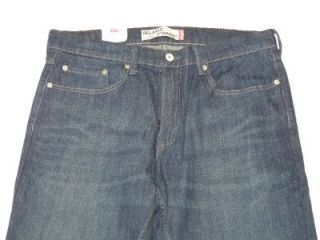 New Levi's Men's 559 Relaxed Straight Leg Jeans Dark Wash 0281 Size 34 34