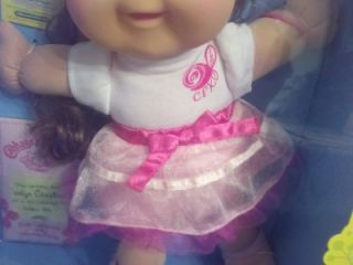 New Cabbage Patch Kids Doll Girly Girl Jaelyn Christina Born Oct 15th 10 15