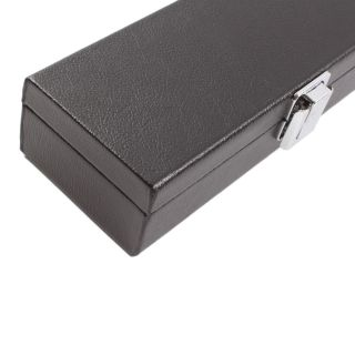 New E6041 11 2 Billiard Pool Cue Box Hard Case Black