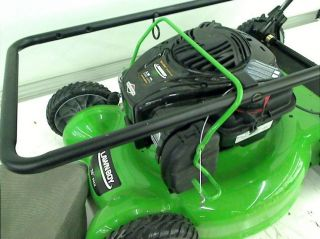 Lawn Boy 20 in Briggs Stratton High Wheel Push Gas Walk Behind Lawn Mower
