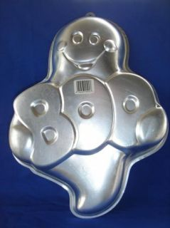 Vintage Wilton Halloween Ghost Boo Cake Pan 2105 1031 Baby Shower Instructions