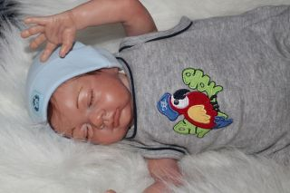 Sweet Pea Babie's Nursery Reborn Doll Cute Little Easton by Michelle Fagan