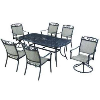 Hampton Bay Santa Maria 7 Piece Patio Dining Set $999 00