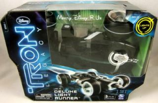 Disney Tron Legacy Deluxe Light Runner Vehicle New
