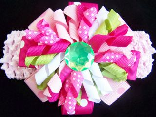 "New Baby Girls ""Pink Lime Cupcake Trio"" Size 12M Capri Clothes"