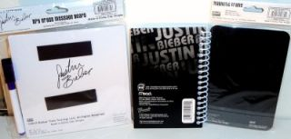 Justin Bieber School Supplies Magnetic Dry Erase Board Memo Pad Magnetic Frame
