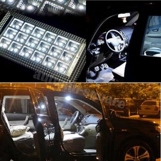 New Car Vehicle 18 LED Roof Ceiling Interior Light Lamp Bulb DC 12V Bright White