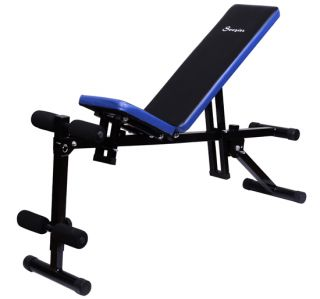 New Multi Use Dumbbell Chair Situp Bench Workout Exercise Biceps Triceps Soozier
