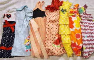 8 Pieces Baby Girl Clothes Dress and Outfit Lot Size 6 9 Months