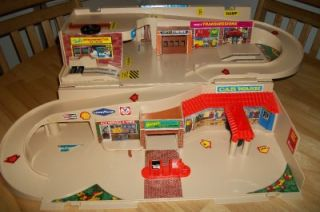 Vintage Hot Wheels Service Center Garage Mattel 1979