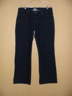 Levi's 545 Low Boot Cut Jeans Flap Pockets Size 16 M