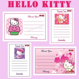 Hello Kitty Birthday Stickers Candy Wrappers Personalized Invites and More