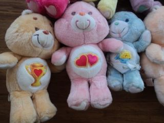 11 Vtg Kenner Care Bears Carebears Birthday Bedtime Baby Tugs Share Friend Morr